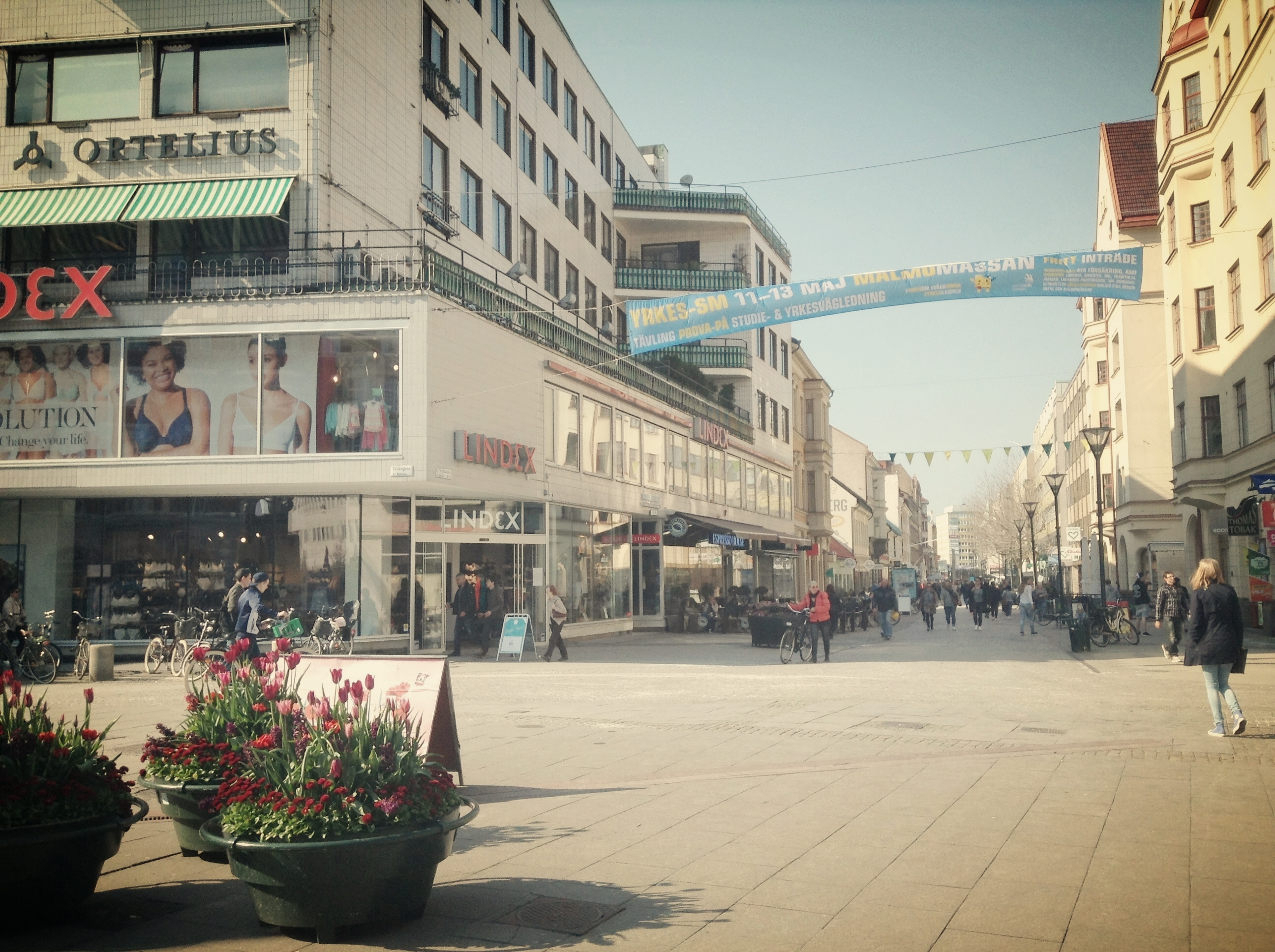 Images of Malmo city centre, Sweden
